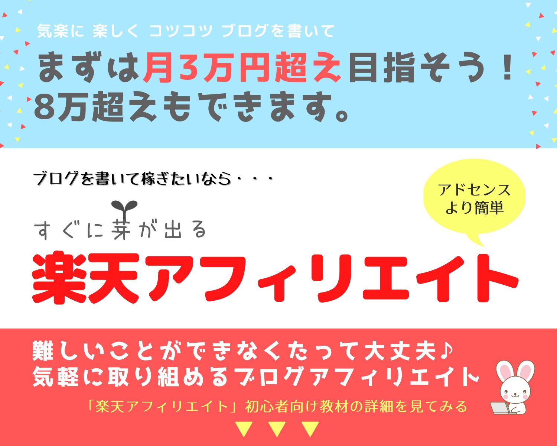 ブログで3万円超え!そして8万円突破もできます!